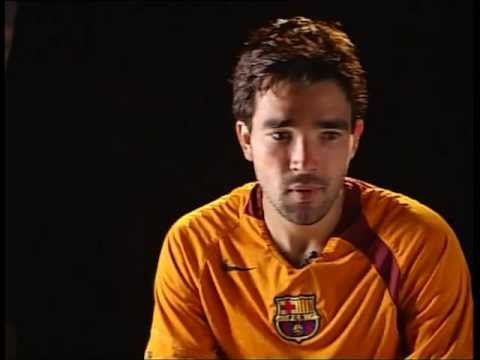 FC BARCELONA - DECO & SYLVINHO SOCCER LESSONS (4/5)