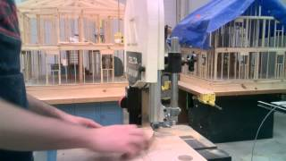 Making Perfect Circles Using The Bandsaw
