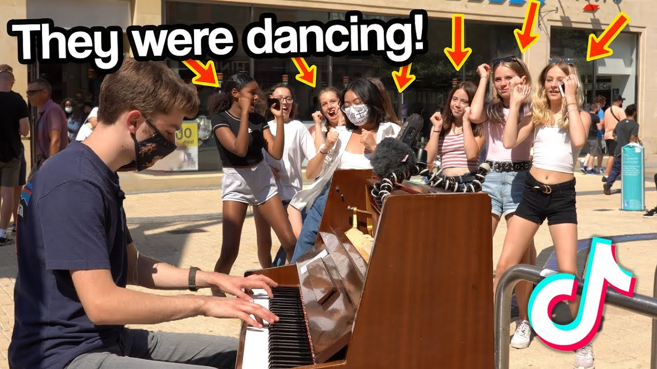 I played TIKTOK SONGS on piano in public (PART 2)