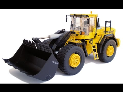 LEGO Technic Motorized Volvo L250G Wheel Loader with instructions - YouTube