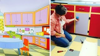 Recreating The Simpsons Kitchen