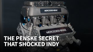 The Indy 500 engine they had to outlaw