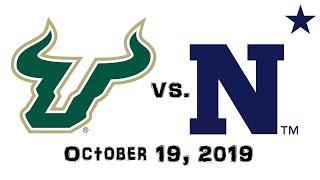 October 19, 2019 - South Florida Bulls vs. Navy Midshipmen Full Football Game