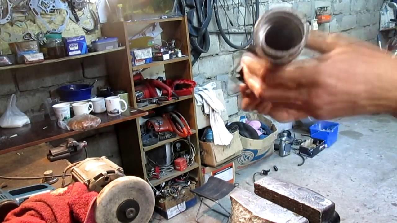 Ремонт передние вилки японского скутера Замена сальников и масла suzuki address ug50
