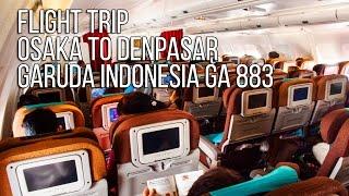 Flight Trip Osaka to Denpasar | Garuda Indonesia