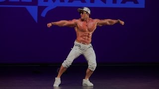 Musclemania Asia 2016 - Guest Poser Hwang Chul Soon (South Korea)