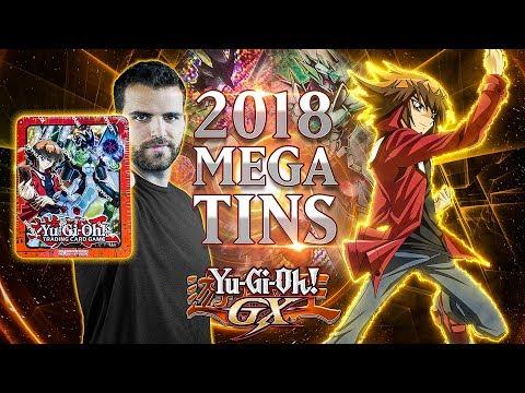 *NEW* YuGiOh 2018 MEGA Tin Jaden Opening & Review!