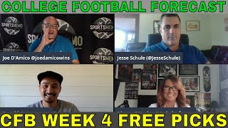 Sportsmemo Football Forecast | College Football Week 4 Picks and Predictions, and Betting Odds
