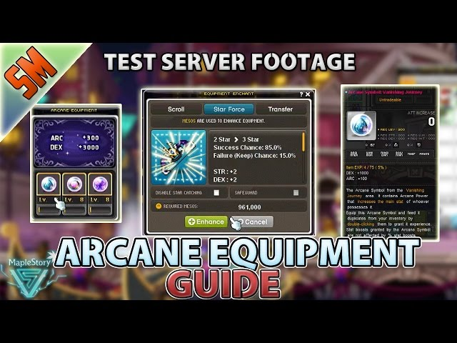 Global Maplestory Test Server Footage Nhltv