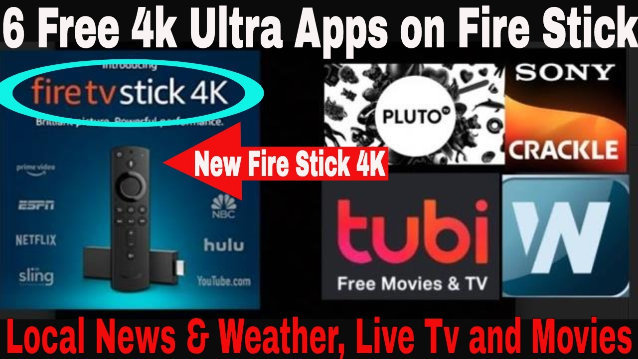 New Amazon Fire Tv Stick 4kbest Apps To Watch Free Live Tv Movies