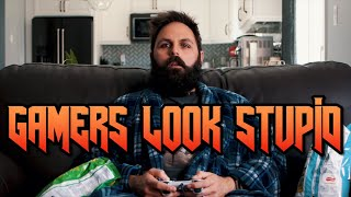 What Gaming Looks Like Vs. How It Actually Is   Video Game Immersion Is A Hell Of A Thing
