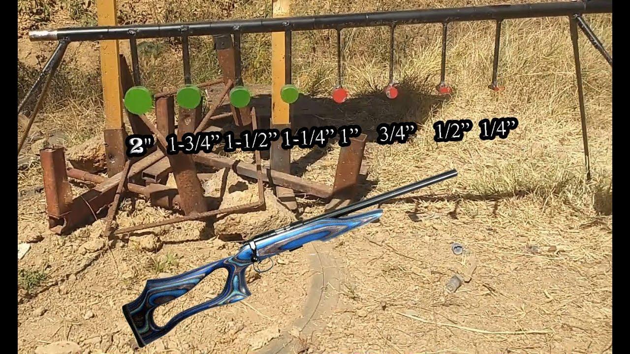 Cz 455 varmint review youtube - Cz 455 Evolution 22lr Vs Reactive Target