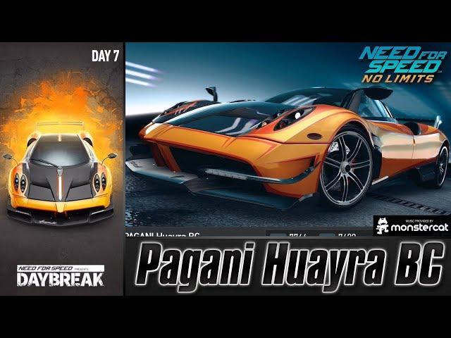 Need For Speed No Limits: Pagani Huayra BC | Daybreak (Day 7 - Crash)