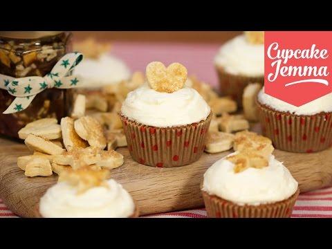 Christmas Mince Pie Cupcake Recipe | Cupcake Jemma
