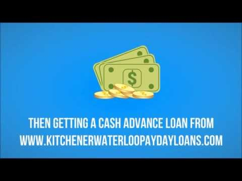 Payday Loans In Kitchener Waterloo - Short Term Loans In KW Ontario
