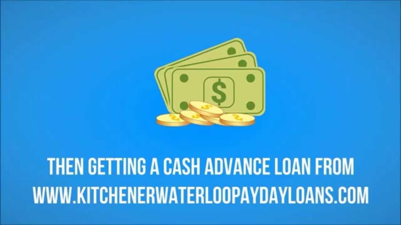 Payday Loans in Kitchener Waterloo - Short Term Loans in KW Ontario ...