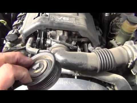 Honda Passport/Isuzu Rodeo idler pulley repair-whining sound in motor