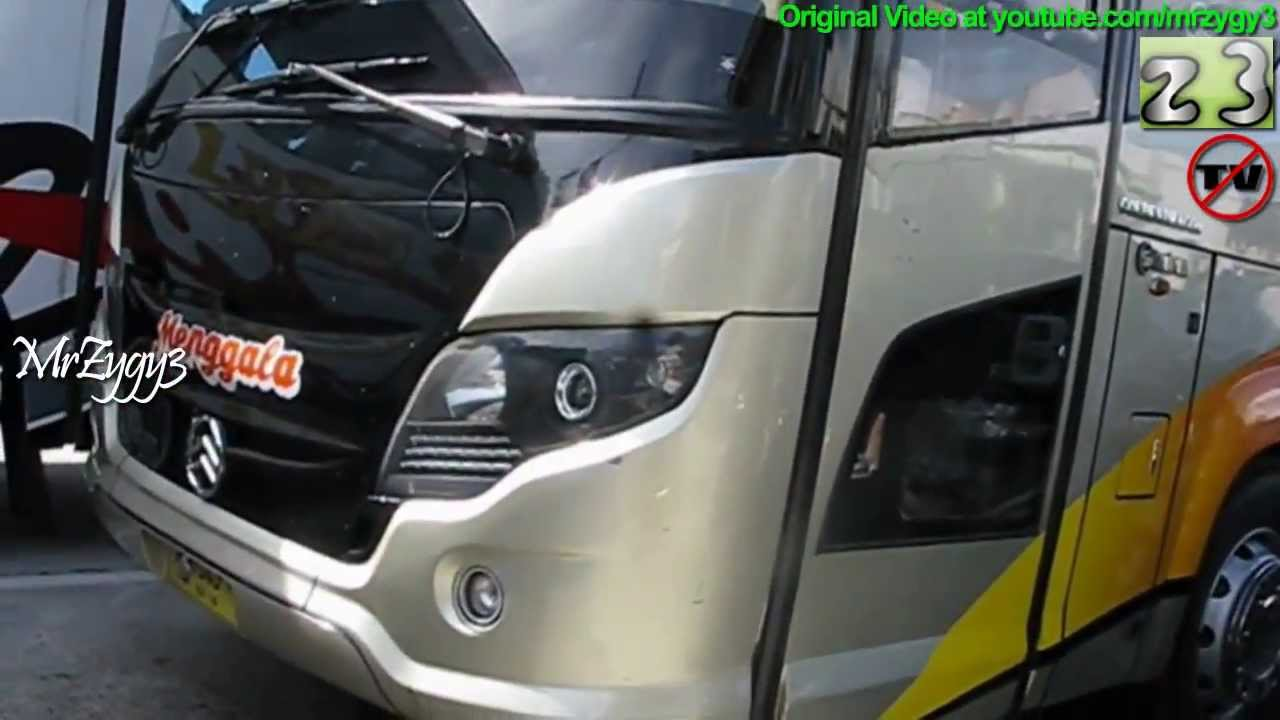 Bus Air Bags : Golden dragon bus menggala air suspension scorpion king by