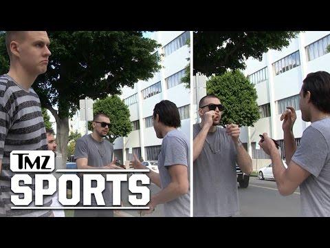 Kristaps Porzingis- Bystander To Epic Handshake | TMZ Sports Mp3