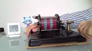 日本製 蒸気タービンエンジン教材模型 Made in Japan  Steamy turbine engine model of teaching materials.