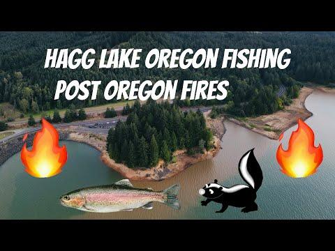 Hagg Lake Fishing | Oregon Trout Fishing | Post Oregon Fires