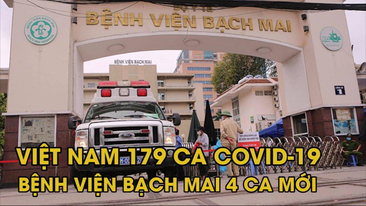 Việt Nam đã có 179 bệnh nhân, Bệnh viện Bạch Mai thêm 4 người nhiễm virus corona