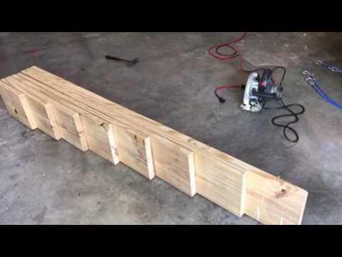 DIY RV Leveling Ramps