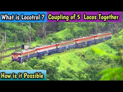 Indian Railway Signalling System :- Coupling of 4-5 Loco