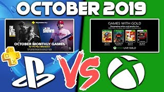 Playstation Plus Vs Xbox Games With Gold Free Games October 2019 - One Of Them Really Sucks!