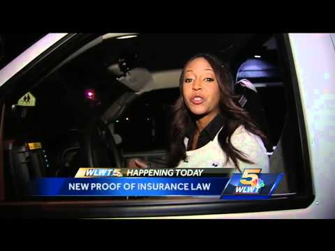 New Proof Of Insurance Law For Ohio Drivers
