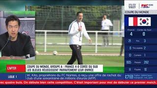 """Equipe de France - Machardy : """"Ce que j'aime bien, c'est que ça ne rigole pas avec Diacre"""""""