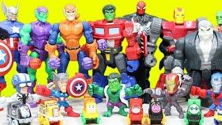 BEST of Halloween Marvel and DC Superheroes Adventures Part 2!