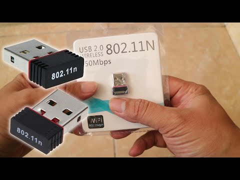 Tutorial & Review Mini Wifi Wireless LAN 802.11N - Review Mini Usb Wifi Murah