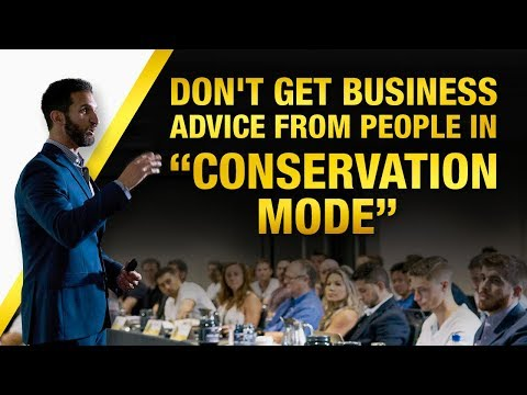DON'T Get Business Advice From People In