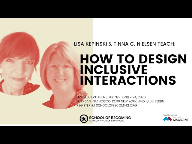 How to Design Inclusive Interactions