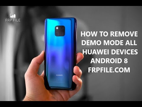 How to remove Retail Demo Huawei Y7 Pro 2019 (DUB-LX2)
