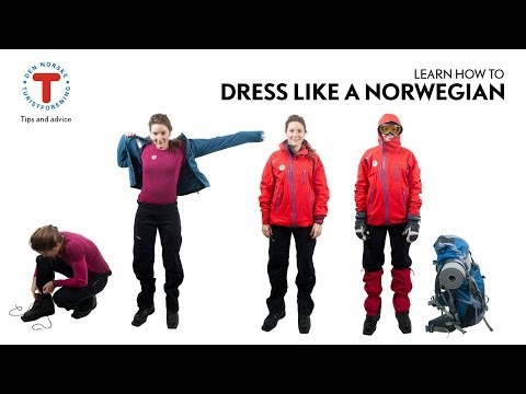 How to dress like a Norwegian