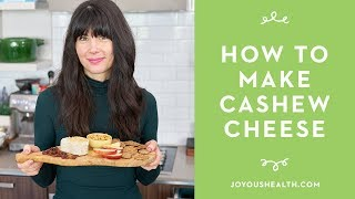 How to Make Homemade (Cultured) Cashew Cheese