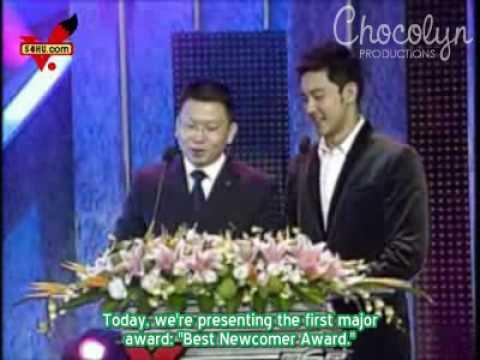 [ENGSUB] 2008.11.15 Southeast Ranking Awards - Zhang Li Yin
