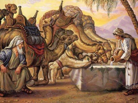 Isaac And Rebekah Ten Camels (Isa...
