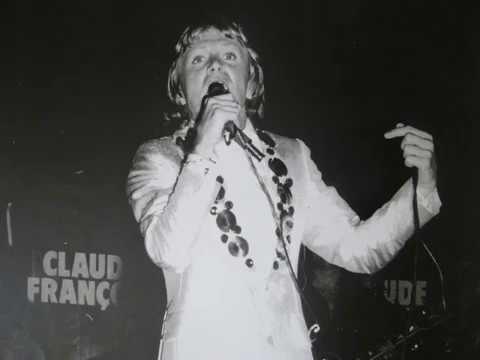 claude francois sur scene wavres juin 1976
