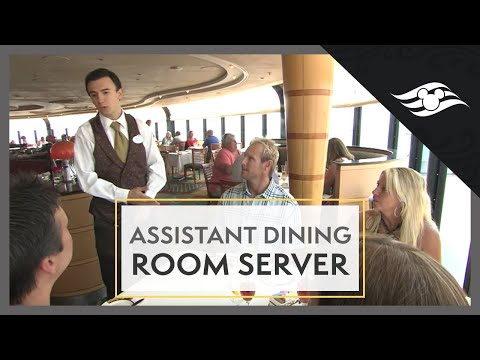 Assistant Dining Room Server - Disney Cruise Line Jobs