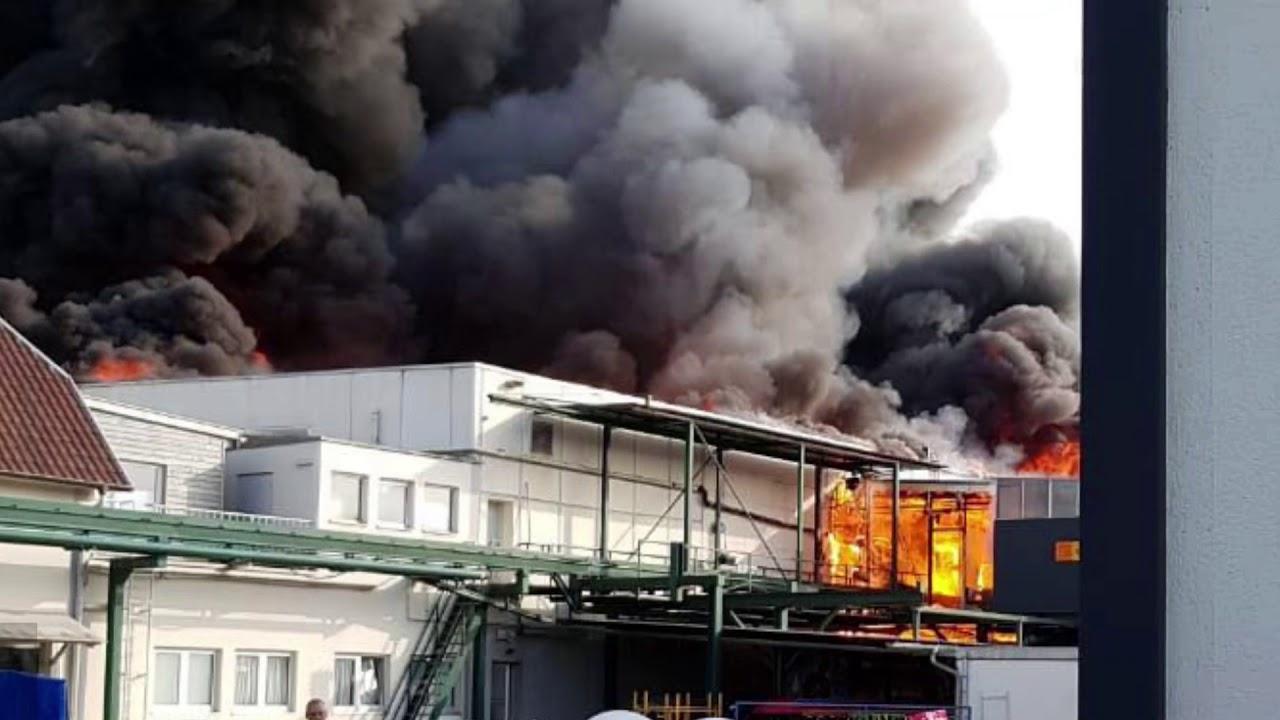 Großbrand In Rust