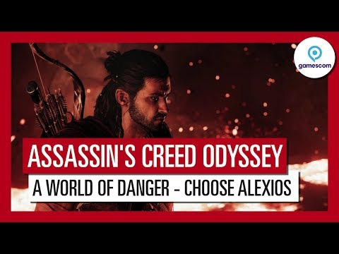 Assassin's Creed Odyssey: Gamescom 2018 A World of Danger Gameplay Trailer - Alexios