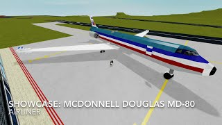 Roblox showcase: The Mcdonnell Douglas MD-80