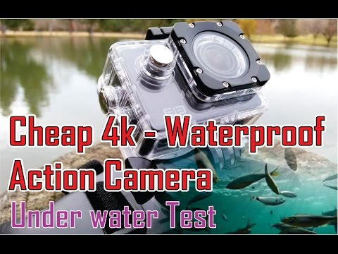 cheap 4k waterproof action camera video test youtube. Black Bedroom Furniture Sets. Home Design Ideas