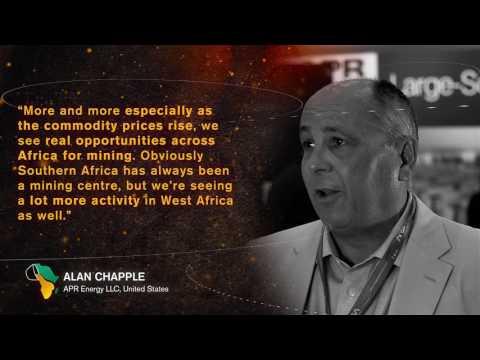 Mining Indaba 2017: Alan Chapple - APR Energy LLC, United States