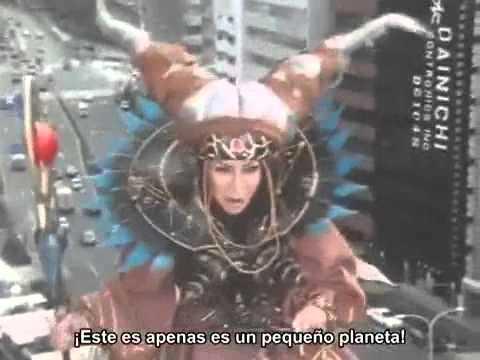 Zyurangers Verdadera aparición de Rita (Bandora)