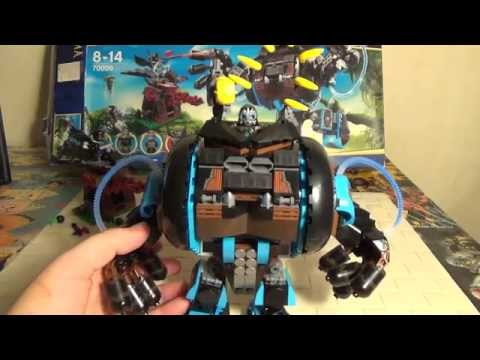 Лего Чима LEGO 70008 GORZAN'S GORILLA STRIKER