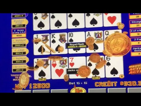 ROYAL ♣️♠️Get Your A$$ To Laughlin! Royal Flush With Multiplier ♣️